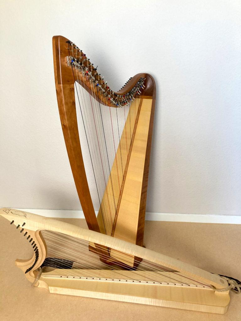 meine Harfen