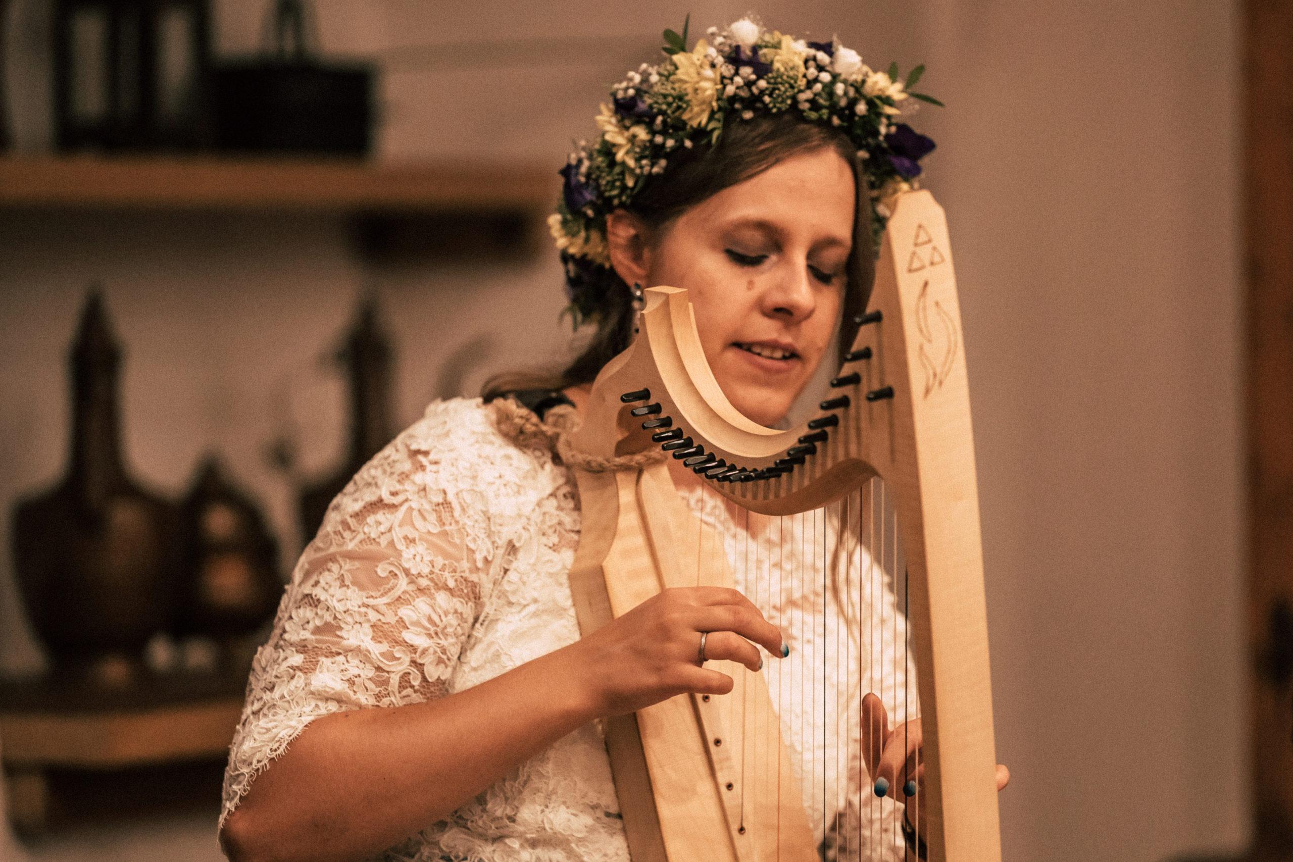 Hochzeit Harfe