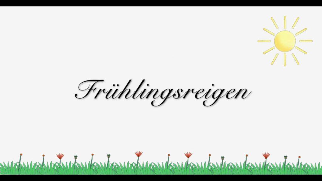 Frühlingsreigen Titel